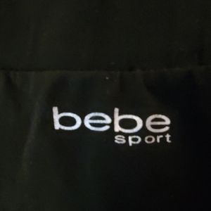 bebe sport leggings black size M EUC